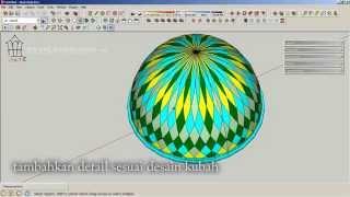 getlinkyoutube.com-tutorial kubah masjid sederhana dan cepat