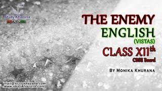 The Enemy - English (Vistas) | Class XII