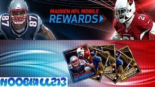 Madden Mobile 16 Madden Pro Rewards Legendary Packs!!