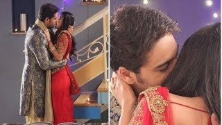"getlinkyoutube.com-Hot Intimate Kiss Scene In Serial ""Tere bin"""
