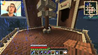 getlinkyoutube.com-ماين كرافت : قلعة غريبة !! #32|32# Minecraft FTB : d7oomy999