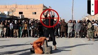 قناص بريطاني من وحدات القوة الجوية الخاصة يقنص رئيس الجلادين في داعش