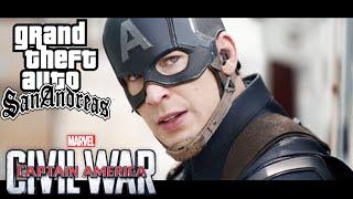 getlinkyoutube.com-GTA San Andreas || Captain America: Civil War - Trailer 2