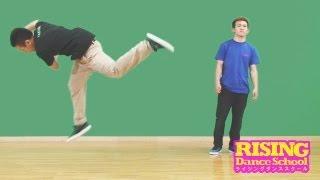 getlinkyoutube.com-【B-BOY】 バッファロー&コークスクリュー RISING Dance School TAISUKE BUFFALO