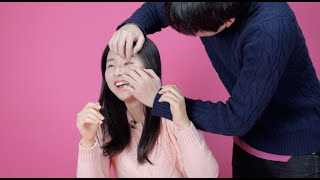 getlinkyoutube.com-Korean girls try to open their eyes