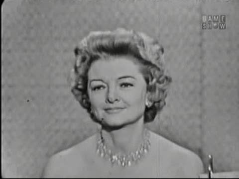What's My Line? - Myrna Loy; Dirk Bogarde [panel] (Jul 31, 1960)
