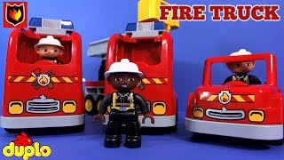 getlinkyoutube.com-LEGO Fire Truck
