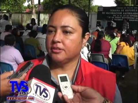 TVS Noticias.- Previenen embarazos y enfermedades venéreas en la Semana de Salud del Adolecente