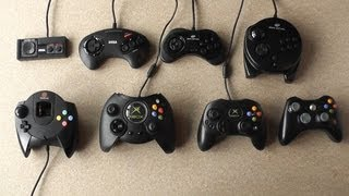 getlinkyoutube.com-Video Game Controller Evolution - From Master System To Xbox 360 - Retro To Modern
