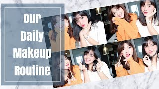 [AVLOG]   Our Daily Makeup Routine With Furry Citra