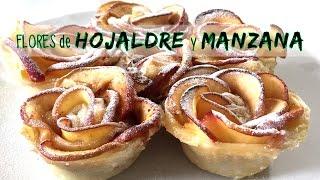 getlinkyoutube.com-Rosas de hojaldre y manzana * RECETA FACIL