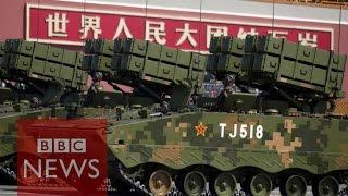 getlinkyoutube.com-China's weaponry on display - BBC News