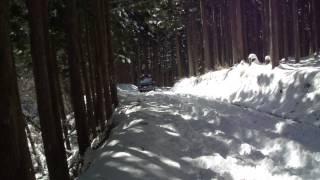 getlinkyoutube.com-深雪を走破するデリカD5、4発チェーンH職人