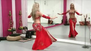 getlinkyoutube.com-Katka Derouet (Krejčová) - orientální břišní tanec - choreografie (2.díl)