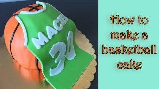 getlinkyoutube.com-How to make a basketball cake / Jak zrobić tort piłkę do koszykówki
