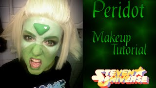 Peridot (Steven Universe) [second version]- Makeup Tutorial