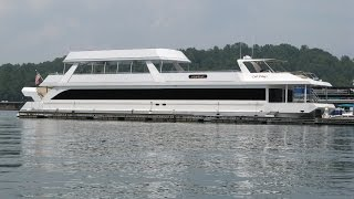 getlinkyoutube.com-2009 Stardust 20 x 115WB Houseboat For Sale on Norris Lake TN by YourNewBoat.com