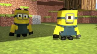 Minions In Minecraft Meet Their Master   s #MMMTM