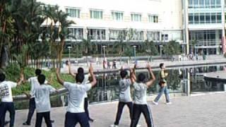 getlinkyoutube.com-Senam Aerobik / Aerobic Exercise by X-A SMA SIK