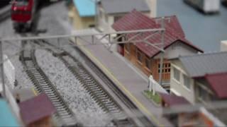 (鉄道模型)900mm×600mmレイアウト@未完成