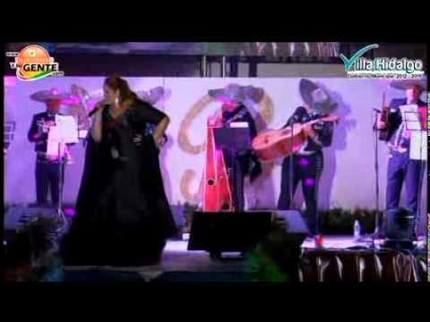 Alejandra Orozco  - Certamen Nuestra Belleza - Feria Villa Hidalgo 2014