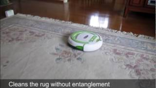 infinuvo cleanmate qq-2 plus ii robotic vacuum cleaner