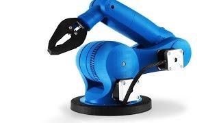 getlinkyoutube.com-Zortrax M200 3D printer - 3D printed dancing robots