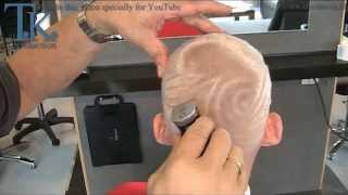 getlinkyoutube.com-NO LIMITS 2 !!  A military short hair cut for Annelien by T K