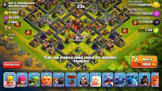 getlinkyoutube.com-Clash of Clans - F.A.C.E.R.O.L.L. (Attack Strategy)