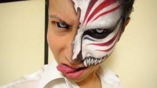 getlinkyoutube.com-「ブリーチ」- Bleach - 黒崎一護虚化メイク方法(化粧)Ichigo Hollow Makeup Tutorial