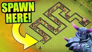 "getlinkyoutube.com-Clash Of Clans - ""THE WORM"" Town Hall 11 Troll Base! - Insane Game Play 2016!"