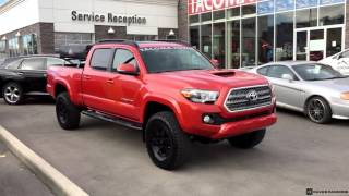 getlinkyoutube.com-Lifted 2016 Toyota Tacoma Double Cab TRD Sport 4X4