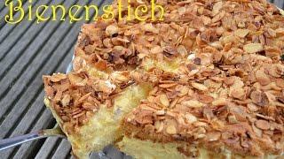 getlinkyoutube.com-DIY - Bienenstich Selber Machen | Rezept | Kuchen Schnell & Einfach Backen (Back Lounge) Rezepte
