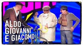getlinkyoutube.com-I tre vecchietti - Aldo Giovanni e Giacomo con Ale e Franz a Zelig 2014