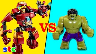 getlinkyoutube.com-LEGO Marvel Superheroes Avengers Age of Ultron The Hulk Buster Smash