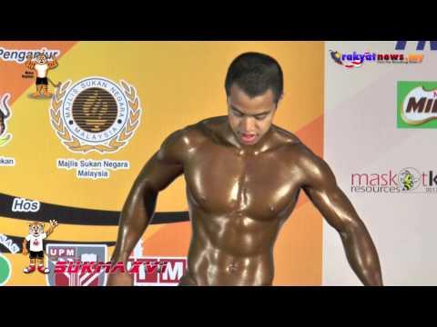 Sukma XVI : Acara Akhir Bina Badan 60 & 70kg 30/06/2013
