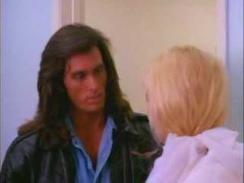 No, this is NOT from a porn movie; it's Samurai Cop.