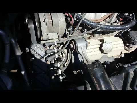 Pontiac Trans Sport не устойчивая работа двигателя.