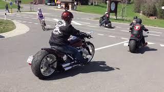 getlinkyoutube.com-Harley Davidson Breakout Friends Rideout 10.04.16