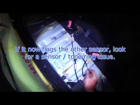 VW A3: Rear ABS speed sensor fault (quick check)