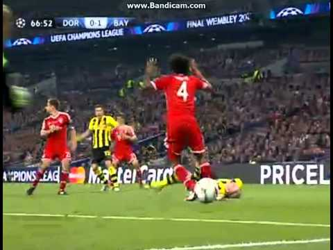 champions league final Fc.Bayern Munchen vs borussia dortmund Penalty Position