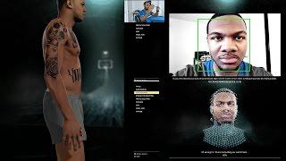 getlinkyoutube.com-NBA 2K16 PS4 MyCAREER -  BEST MYPLAYER FACESCAN CREATION of Marcus Gento!! Ep. 1