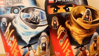 getlinkyoutube.com-LEGO Ninjago 70741 и 70742: Airjitsu Коул и Зейн