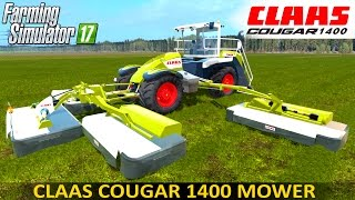 getlinkyoutube.com-Farming Simulator 17 CLAAS COUGAR 1400 SELF-PROPELLED MOWER