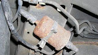 getlinkyoutube.com-Kraftstofffilter wechseln! Benzinfilter wechseln! Fuel filter replacement!
