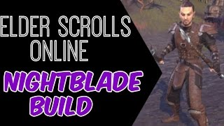 getlinkyoutube.com-Elder Scrolls Online: Nightblade DPS Build