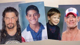getlinkyoutube.com-See WWE Superstars as kids!  John Cena, Sasha Banks and more before they were WWE Superstars