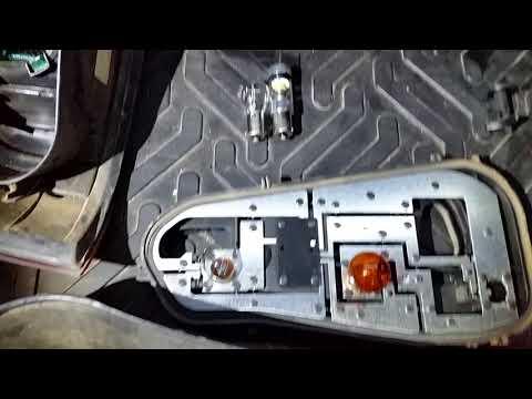 Лампа светодиод задний ход тест обзор Renault Logan Рено Логан