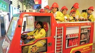 getlinkyoutube.com-Fireman Sam - Making Money and Having Fun at Kidzania Dubai