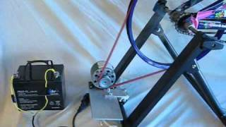 getlinkyoutube.com-Why use A blocking diode with  battery charging dynamo bicycle generator